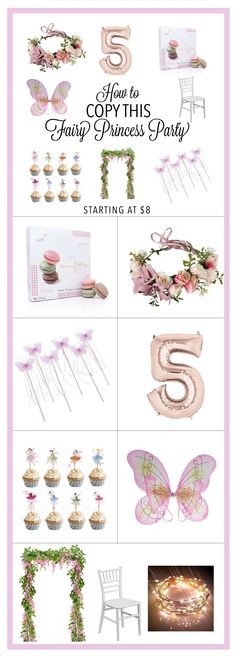 Fairy Princess Birthday Party Ideas Theme DIY - How to Copy this Look - Starting at $8 - Sweet fairy princess butterfly wings, pastel princess, 3 yo birthday, 4 yo birthday, 5 yo birthday, 6 yo birthday, 7 yo birthday, Adorable kid's birthday party theme idea