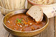 — Венгерский картофельный суп — Что приготовить из фарша для праздничного стола? Лучшие рецепты