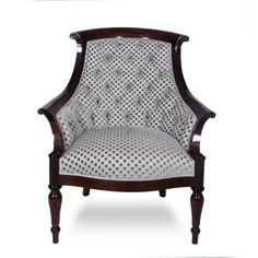 John Boone Upholstered Lounge Chair  at DecorNYC