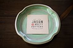 Olive Oil Dipping Tray Recipe by JasonWolffPottery on Etsy Olive Oil Dip, Pottery Store, Hobbies And Interests, Garden Items, Miniature Fairy Gardens, Handmade Pottery, Serveware, American Made, Tray