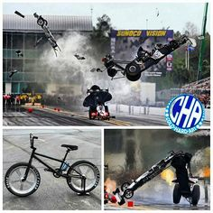 Cold hard art bmx made from Larry dixion jr top fuel wheels