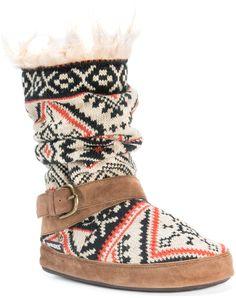 Light Tan Lisen Slipper Boot - Women