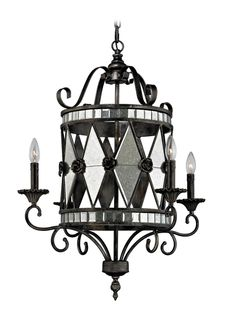 Mariana 4-Light Chandelier by Artistic Lighting at Gilt