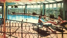 gabe's tower owensboro ky   Image: Postcard of Gabe's Inn's Roof Garden and Pool.