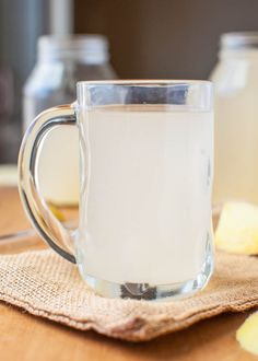 Homemade Ginger Ale (vegan, GF) - Kick back with a glass of your own ginger ale. So easy it's almost work-free! averiecooks.com