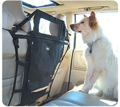 If your dog loves to jump from the back to front seats, the Kurgo Back Seat Barrier is for you!