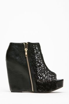 Qupid Black Lace Detailed Booties @ Cicihot Wedges Shoes Store:Wedge Shoes,Wedge Boots,Wedge Heels,Wedge Sandals,Dress Shoes,Summer Shoes,Spring Shoes,Prom Shoes,Women's Wedge Shoes,Wedge Platforms Shoes,floral wedges #promshoesblack #promheelswedges #promshoeswedges
