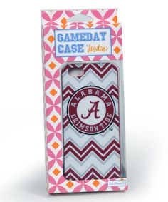 This Alabama Crimson Tide Chevron Case for iPhone 5/5s is perfect! #zulilyfinds