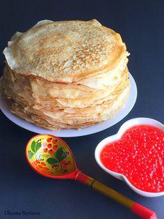 Blini (Yeast Pancakes)