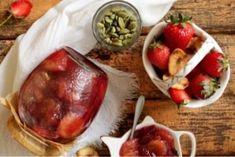 Потрясающее варенье из клубники и бананов Photo Fruit, Strawberry, Sweets, Beef, Kitchen, Food, Fruits And Vegetables Pictures, Meat, Cooking