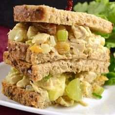 A healthy and tasty chicken salad with a fruity twist  Allrecipes.com