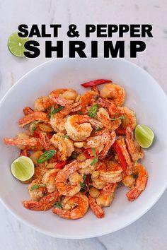 Chicken Wing Recipes, Shrimp Recipes, Beef Recipes, Cooking Recipes, Yummy Recipes, Salt N Pepper Shrimp Recipe, Salt And Pepper Chicken, Shawarma Spices, Recipes