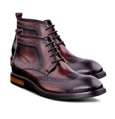 Details about Handmade Fashion Brown Dress Shoes Mens Ankle Boots Genuine Leather Handmade Fashion Brown Dress Shoes Mens Ankle Boots Genuine Leather Mens Boots Fashion, New Mens Fashion, Fashion Shoes, Fashion Edgy, Fashion Ideas, Fashion 101, Fashion Inspiration, Fashion Trends, Mens Ankle Boots