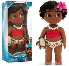 Upcoming Moana toddler doll! Photo credit to Radio Disney Club!
