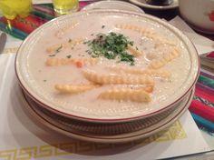 Sopa De Maní...Peanut Soup, Bolivian Food