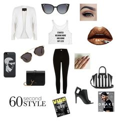 """""""60 sec VIEW on style!!!"""" by diceyjane ❤ liked on Polyvore featuring Casetify, River Island, Alepel, Givenchy, Mulberry, Fendi, Drakes London, Christian Dior, DRAKE and views"""