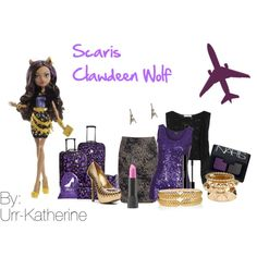 Scaris Clawdeen Wolf by urr-katherine on Polyvore