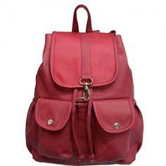 Redlicchi Women's PU Casual Purse Fashion School Leather Backpack Shoulder Bag Mini Backpack for Women & Girls Leather Crossbody, Leather Backpack, Pu Leather, Girly Backpacks, Fashion Bags, Fashion Backpack, Casual Wear Women, Backpack Online, Casual Bags
