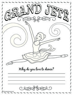 Ballerina Coloring Pages For Kids - http://fullcoloring.com/ballerina-coloring-pages-for-kids.html
