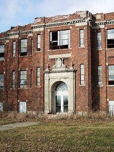 Abandoned Indiana School