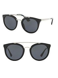 Prada 52MM Phantos Sunglasses - Black