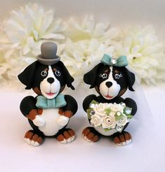 bernese mountain dog wedding cake topper panda wedding cake topper wedddings 11267