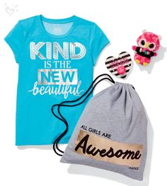 Wear your positivity front and center!