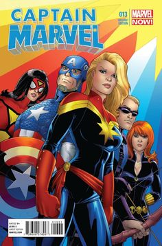 Captain Marvel and the Avengers. Ms Marvel Captain Marvel, Miss Marvel, Captain Marvel Carol Danvers, Marvel Heroes, Marvel Avengers, Female Avengers, Archie Comics, Marvel Comics, Marvel Art