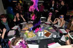 Vegas themed Bat Mitzvah at the SEA LIFE London Aquarium