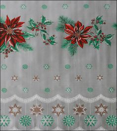 Oilcloth By The Yard - Holiday