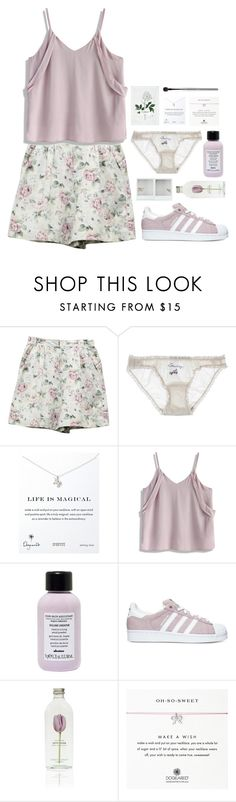 """""""201."""" by ver16x ❤ liked on Polyvore featuring Off-White, STELLA McCARTNEY, Dogeared, Chicwish, Davines, adidas and esum"""
