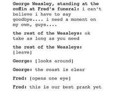 Finally a post about Fred that makes me laugh