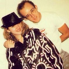 Two of our favorites. @madonna @keith_haring #KeithHaring #Madonna #AmazingEra