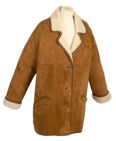 Sheepskin coat. About coats, there is one that screams out skinhead: the sheepskin coat, popular in tan colour in the earlier days and then in the same or darker shade in the later days. The sheepskin coat was worn with pride '68-'71. However, the smartest ones would be the crombie style coats, in fashion since the winter '69-'70.