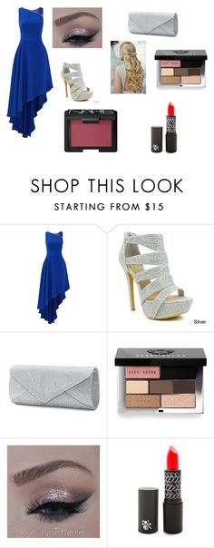 Adorable prom look by rojoubdalia on Polyvore featuring Halston Heritage, Celeste, Mascara, Bobbi Brown Cosmetics and NARS Cosmetics
