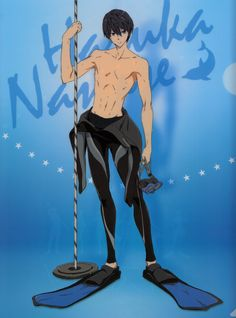 High☆Speed! -Free! Starting Days- limited presale movie ticket special clearfiles~ | Haru