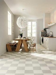 Image result for chess tiles kitchen