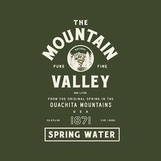 We're honored to have rebranded such an iconic and historic American brand. Mountain Valley Spring Water, Since 1871.