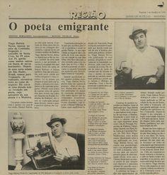 Memória: O poeta emigrante