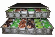 Storage-Drawer-StaK-N-Store-Holds-72-Coffee-Pods-Kitchen-Tea-appliance-Diner
