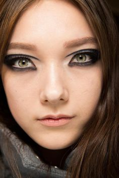 Backstage Beauty Spring 2015 Couture - Hair and Makeup Tips #beauty #Spring2015 #Couture