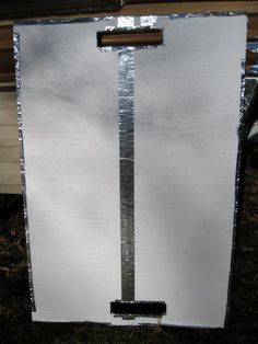 How To Make A DIY Passive Solar Window Heater For An RV - not as pretty as some but would be good in a pinch. Solar Energy Panels, Best Solar Panels, Solar Energy System, Passive Solar, Troy, Solar Energy Information, Solar Power Inverter, Solar Roof Tiles, Solar Projects