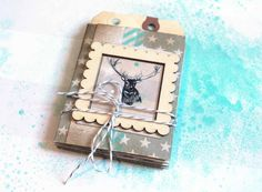 ILS - scrapbooking: mini album tutorial by Karine!