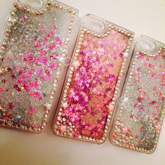 Glitter iphone 5s case by CherryBlossomWales on Etsy