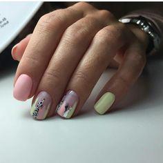 Abstract nail art Beach nails Beautiful nails to the sea Light summer nails Nails trends 2020 Original nails Pink and lime green nails Stylish nails Short Nail Designs, Best Nail Art Designs, Stylish Nails, Trendy Nails, Cute Acrylic Nails, Cute Nails, Minimalist Nails, Dream Nails, Perfect Nails
