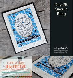 Friendly Wishes, sequin accents, oval frame, #crazybeyoutiful30day #stampinup