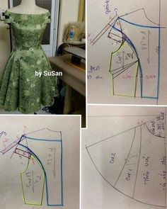 Diy Ropa Mujer Fashion Ideas Ideas For 2019 Sewing Art Sewing Tools Sewing Tutorials Sewing Hacks Sewing Patterns Sewing Projects Sewing Techniques Techniques Couture Learn To Sew Dress pattern cut out Great swing dress DIY - would add a curve to the bodi Dress Sewing Patterns, Blouse Patterns, Sewing Patterns Free, Clothing Patterns, Blouse Designs, Sewing Clothes, Diy Clothes, Barbie Mode, Bodice Pattern