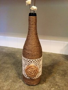 Hey, I found this really awesome Etsy listing at https://www.etsy.com/listing/252165122/wine-bottle-decor-rustic-home-decor
