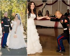 {Real Wedding} Military Vow Renewal by Brianna Noelle Photography