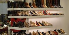Shoe Display, Display Ideas, Shoe Rack, Shoes, Zapatos, Shoes Outlet, Shoe Racks, Shoe, Footwear